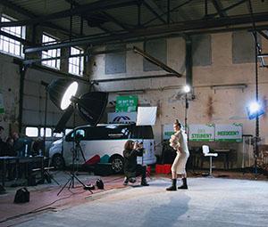 Fotografie op industriële locatie in De Molkfabryk Burgum
